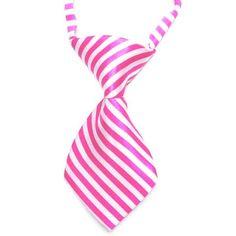 HelloDefiance, Pink Stripes Dog Tie, best, HelloDefiancecheap