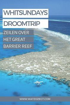 Zeilen over het Great Barrier Reef en de Whitsundays