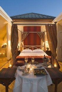 Cabriolet Suite at L'Albereta Resort in Franciacorta, Italy.