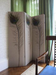 Peacock screen