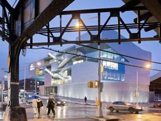 steven holl: campbell sports center at columbia university