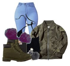 """""""Untitled #2537"""" by alisha-caprise ❤ liked on Polyvore featuring Case-Mate and Timberland"""