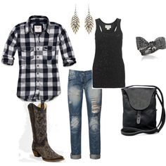 Like tattoos on this town. Country Fashion, Country Outfits, Country Chic, Country Girls, Cute Comfy Outfits, Pretty Outfits, Girl Fashion, Fashion Outfits, Womens Fashion