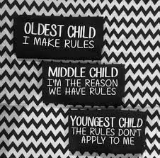 Oldest Child, Middle Child, Youngest Child Youngest Child Syndrome, Middle Child Syndrome, Sibling Quotes, Sibling Memes, Sibling Rivalry, Birth Order, Most Hilarious Memes, Funny Stuff
