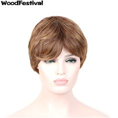 WOODFESTIVAL synthetic wigs curly african american wigs for black women short wig hairstyles bob blonde brown wig heat resistant