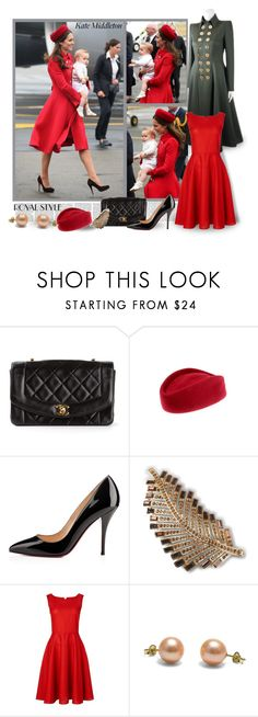 """Dedicated to Kate - a Beautiful and Elegant Mother - for Mother's Day !"" by mary-gereis ❤ liked on Polyvore featuring Victoria Beckham, Chanel, Christian Louboutin, Brooks Brothers and Jaeger"
