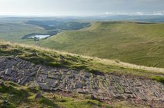 Outdoors - Footpath between Corn Du and Pen y Fan in the Brecon Beacons National Park, South Wales