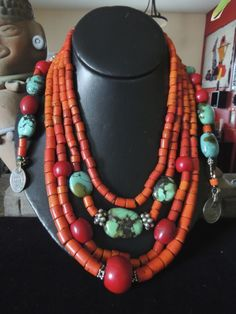 These are absolutely wonderful! Nagaland beads Added by Pat Rodriguez