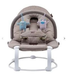 Baby Mamas And Papas Capella Baby Bouncer Sound & Vibrating Chair Jungle Theme Baby Gear