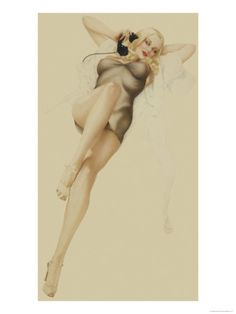 Pin-Up Girls (Vintage Art) Posters at AllPosters.com