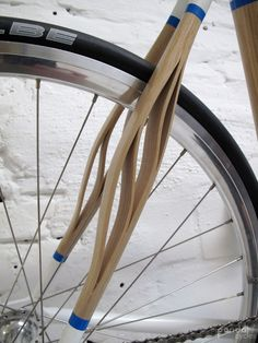 Sinéctica para amortiguar la rueda.