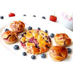 Saftiger Erdbeer-Heidelbeer-Kuchen – Berry Cake
