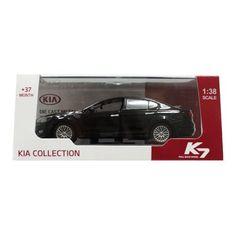 KIA K7 1:38 Die Cast Metal Car- Aurora Black Review