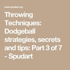 Ukdba Dodgeball Court Size Diagram The Diagram Show A
