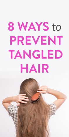 Untangle the myth, and let your luscious locks down! #beauty #tips