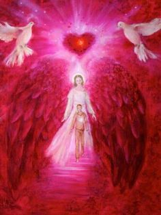 Arcángel chamuel...el ángel del amor y compasión