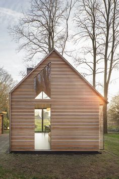 Recreation house, Utrecht, 2014 - Zecc Architecten