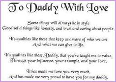 TO OUR PRECIOUS DAD IN HEAVEN~Thanks For All The Wonderful Memories:We MissYou