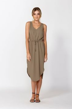 The best of what's new! Shop the Mexico Drawstring Dress in stores and online now www.decjuba.com.au @Decjuba