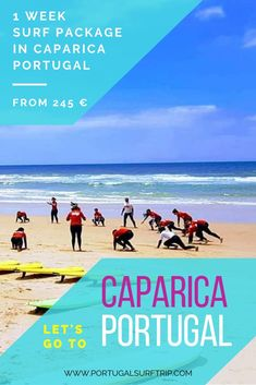 1 WEEK SURF PACKAGE IN COSTA DA CAPARICA   PORTUGAL what is included: ~ 7 nights accommodation with breakfast  ~ 5 surf lessons with certified local instructors  ~ beach transfer to the best surf spot ~ bed linens & towels  ~ Wi-Fi #surfing #waves #in #costaDaCaparica #caparica #beach #lisbon #portugal #surfHolidays #active #surf #vacation #with #portugalsurftrip Best Surfing Spots, Surf Trip, Lisbon Portugal, Yoga Retreat, Bed Linens, Wi Fi, Towels, Costa, Have Fun