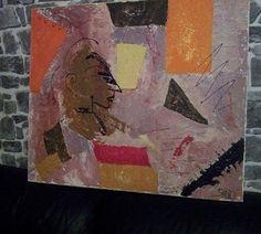 Toile peinture acrylique, huile, vernie peinte au couteau Dimensions : 70/50 cm Toile coton Tableau lumineux et original, chef d'une tribu Mélange des tons chauds, froids et vifs accompagnés de paillettes par endroit Osez la couleur, se mariera très bien avec le bois. Envoi sous bulles, très protégé et rapide. VENDU