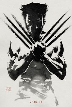 The Wolverine : première affiche teaser