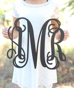 Another great find on #zulily! Fancy Monogram Wall Sign #zulilyfinds......$29.99