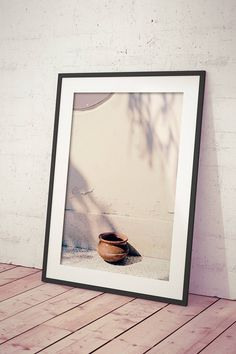 Rustic Bowls Photography Wall Art Printable Shadow Photo
