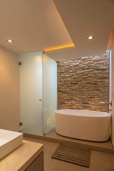Small Bathroom Sinks, Big Bathrooms, Bathroom Spa, Beautiful Bathrooms, Luxury Bathrooms, Modern Bathtub, Contemporary Bathrooms, Modern Bathroom, Bad Inspiration