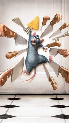 Ratatouille Phone Wallpaper – Best of Wallpapers for Andriod and ios Ratatouille Disney, Ratatouille 2007, Ratatouille Quotes, Disney Animated Movies, Pixar Movies, Disney Movies, Movie Wallpapers, Cute Cartoon Wallpapers, Disney Art