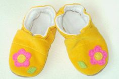 yellow flower baby girl shoes soft soled baby flower shoes toddler slippers children baby booties gift shoes for child infant shoes cloth