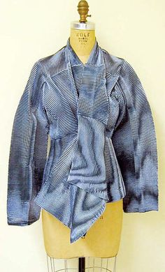 Jacket, Issey Miyake, S/S 1997, synthetic blend.