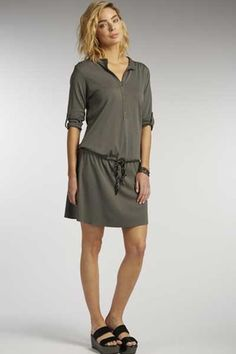 Very soft organic cotton tunic in gentle ash grey. Sweet, organic, Fair Trade.