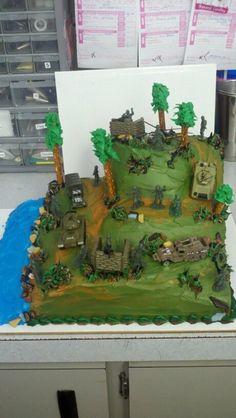Army cake!
