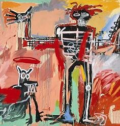 "Legitimate Conversation // (""Boy and Dog in a Johnnypump"" by Jean-Michel Basquiat)"