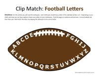Football lesson plan and unit study  #homeschool #preschool #printables #kindergarten