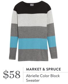 Market and Spruce sweater from Stitch Fix  https://www.stitchfix.com/referral/7393950