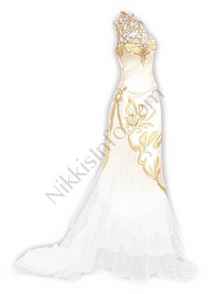 Numerous flowers bloom and fade and numerous legends rise and fall.A dream of prosperity, A trace of Shanghai. Fashion Design Portfolio, Fashion Design Drawings, Fashion Sketches, Drawing Fashion, Drawing Anime Clothes, Dress Drawing, Cute Dresses, Beautiful Dresses, Fantasy Gowns