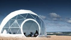 The company says Classic domes are durable and can withstand earthquakes.