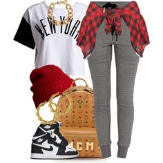 A fashion look from November 2014 featuring :CHOCOOLATE t-shirts, Forever 21 tops and 3.1 Phillip Lim activewear pants. Browse and shop related looks.