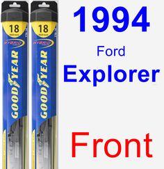 Front Wiper Blade Pack for 1994 Ford Explorer - Hybrid