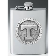 Tennessee Volunteers Flask..I need to get Jordo one of these