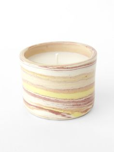 Scented Soy Candle - Desert/Sun/Rose Marble
