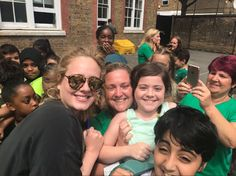 Adele visited a school affected by the Grenfell fire #pure #rolemodel #Adele #givinghope #kindness