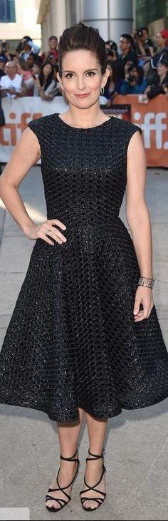 Tina Fe in Dress – Christian Siriano  Shoes – Christian Louboutin