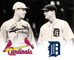 Cardinals vs Tigers, 1934 World Series—81 years later their uniforms look much the same: