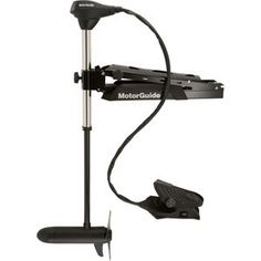 The Amazing Quality 'MotorGuide X5-80FW Foot Control Bow Mount Trolling Motor - 80lb-45''-24V', stainless steel