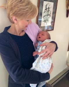 "It's a new EWTN viewer! Congratulations to Donna-Marie Cooper O'Boyle, host of #EWTN's ""#Catholic Mom's Café,"" who is thrilled to welcome her first #grandchild into the world! May God bless you both!"