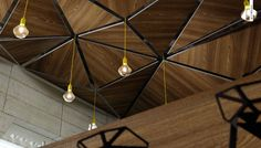 Natural Touch, Restaurant & Office CGI by Pikcells, via Behance