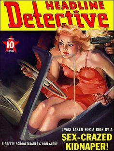 Headline Detective, April 1941